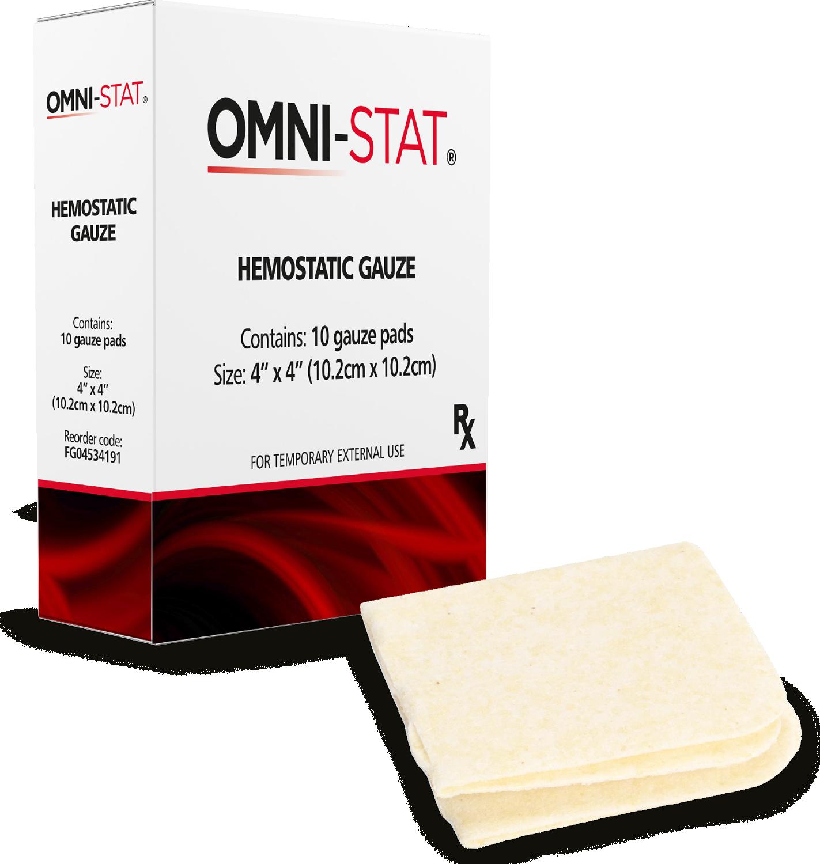Hemostatic Gauze by Omni-Stat