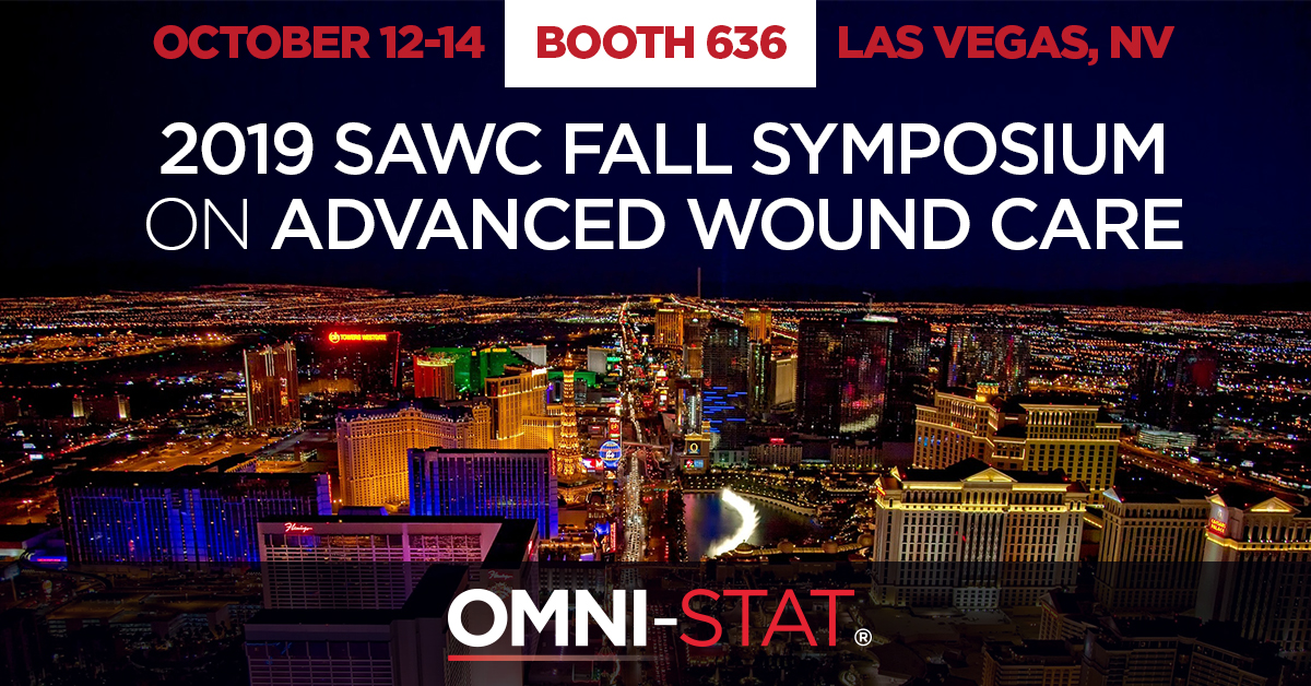 Join Omin-Stat Medical Inc in Las Vegas for the SAWC Fall Symposium on Advanced Wound Care