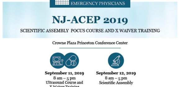 NJ-ACEP Scientific Assembly Meeting